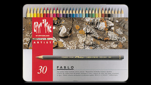 Caran D'Ache Pablo Coloured Pencil - 30 colour
