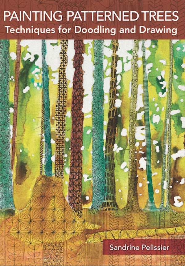 Painting Patterned Trees with Sandrine Pelissier