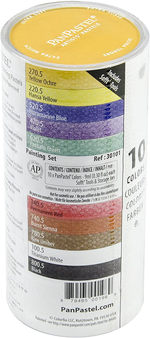 PanPastel - 10 Colour Painting Set