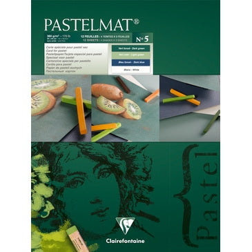 "Clairefontaine Pastelmat Pastel Pad - 9"" x 12"" - Selection ""No. 5"""