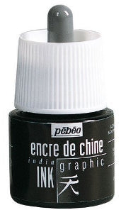 Pebeo Graphic India Ink 45ml