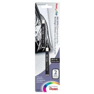 Pentel Refill for Pocket Brush Pen - Pack of 2