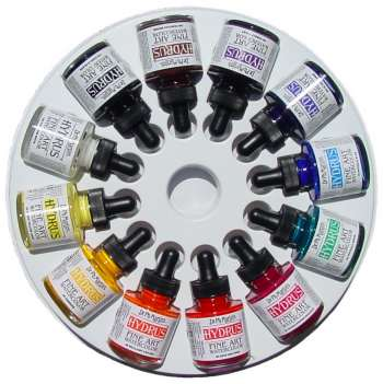 Dr. Ph. Martin's Hydrus Fine Art Watercolour Set of 12 - 1 oz. bottles - Set #3