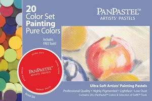 PanPastel - 20 Colour Pure Colors/Painting Set