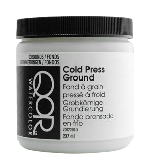 QoR Watercolour Ground - 237 ml - Cold Press Ground