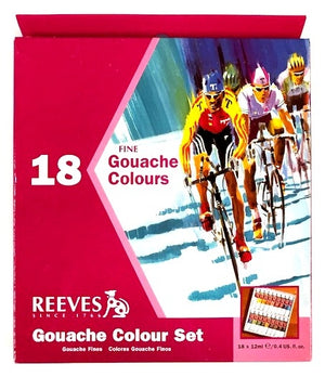 Reeves Gouache Set of 18