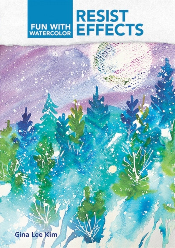 Fun With Watercolor Resist Effects with Gina Lee Kim