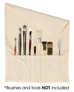 Canvas Brush Roll-Up