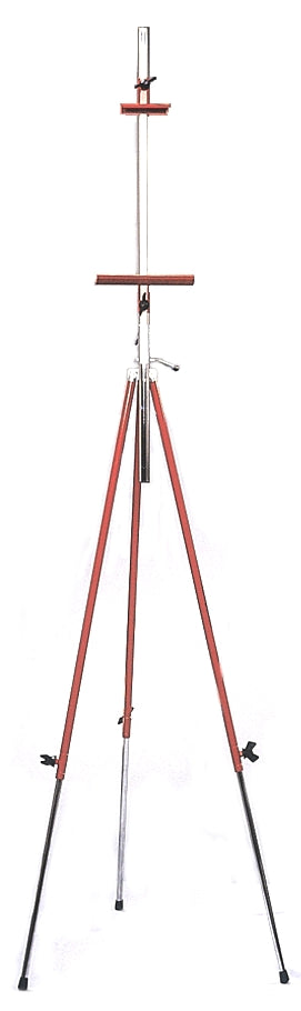 Richeson Steel Tripod Easel - Red