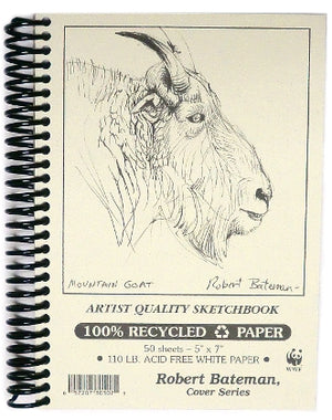"Robert Bateman Sketch Book - 6"" x 9"""