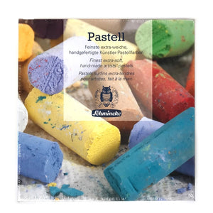 Schmincke Finest Extra-Soft Artists´ Pastels Half Stick Set of 18 - Set 1