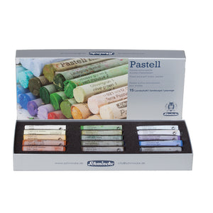 Schmincke Finest Extra-Soft Artists´ Pastels Set of 15 - Landscape Set
