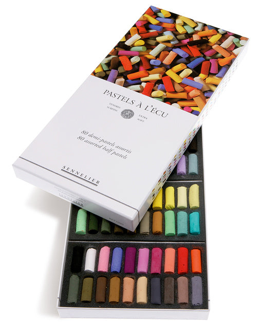 Sennelier Extra Soft Pastel 80 Half Stick Assorted Set