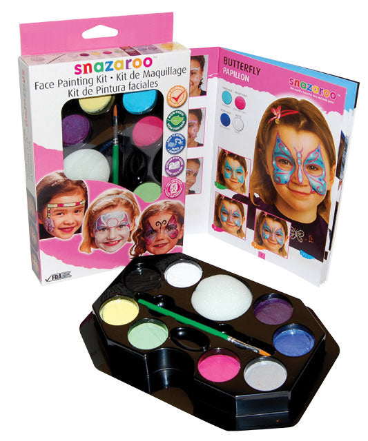 Snazaroo Face Painting Kit Girls