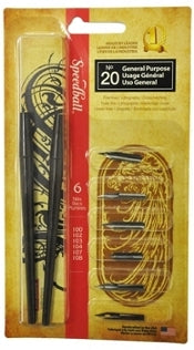 Speedball - No. 20 General Purpose Pen Set