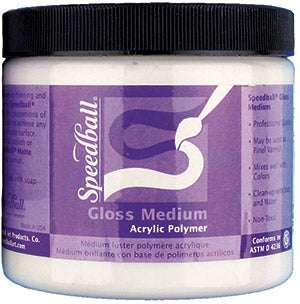 Speedball Acrylic Gloss Medium - 16 oz