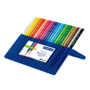 Staedtler Ergosoft® 157 Triangular Coloured Pencil Set of 24
