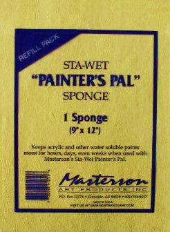 "Sta-Wet Painter's Pal Palette Refill Sponge - 9"" x  12"""