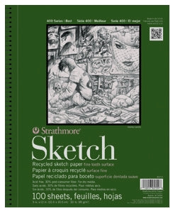 "Strathmore 400 Series Recycled Sketch - 3 ½"" x 5"