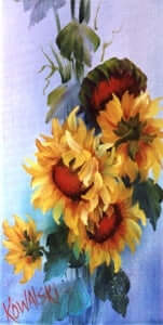 Bob Ross Floral Painting Packet - Sunflowers