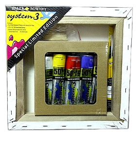 System 3 Limited Edition Acrylic Paint Set