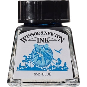 Winsor & Newton Drawing Ink - 14 ml bottle - Blue