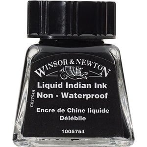 Winsor & Newton Drawing Ink - 14 ml bottle - Liquid Indian Ink