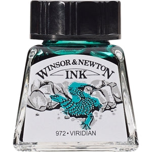 Winsor & Newton Drawing Ink - 14 ml bottle - Viridian