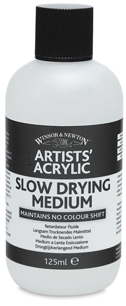 Winsor & Newton Artists' Acrylic Slow Drying Medium - 125 ml