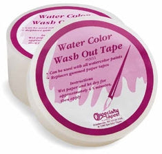 Watercolor Wash Out Tape