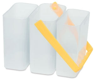 Stackable Water Container 3 piece - Yellow