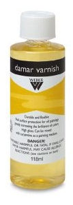 Weber Damar Varnish - 118 ml bottle