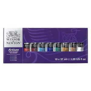 Artisan Watermixable Oil Colour - 10 x 37 ml Tube Set