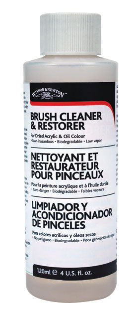 Winsor & Newton Brush Cleaner & Restorer - 4 oz.