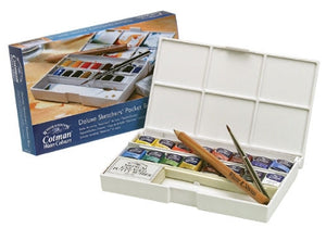 Cotman Watercolour - Deluxe Sketchers' Pocket Box
