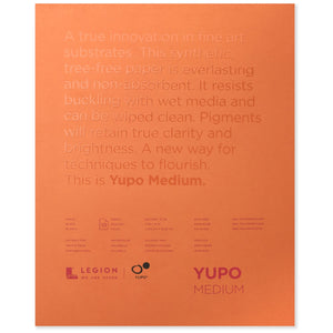 Yupo Medium Paper Pad - 11 x 14