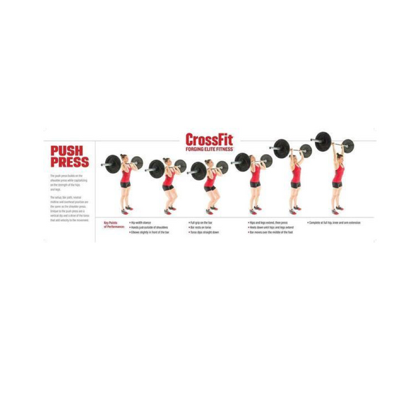 Movement Poster- Push Press