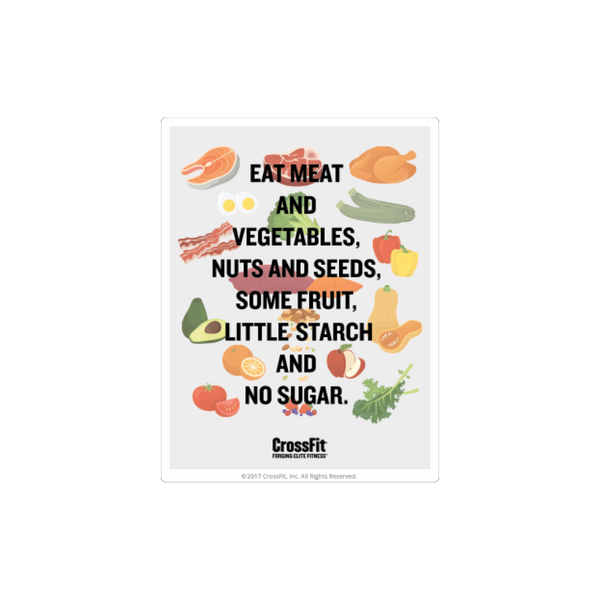 CrossFit™ Nutrition Magnet