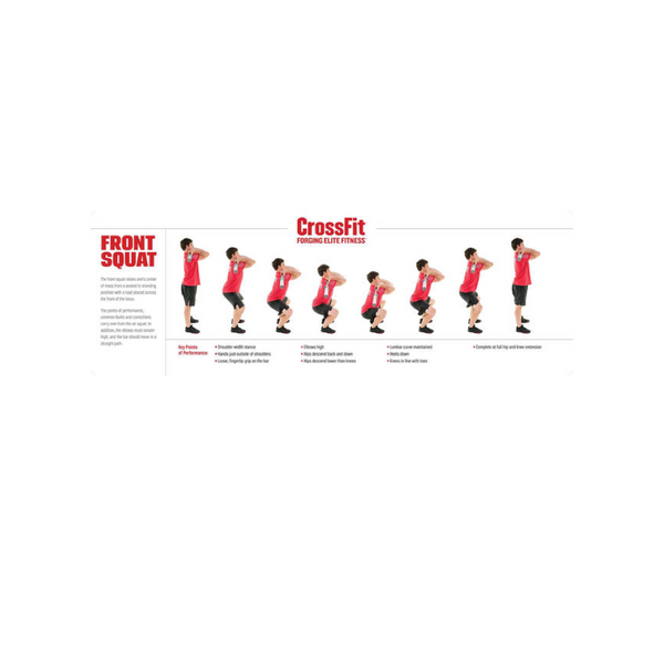 Movement Poster - Front Squat