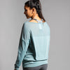Dance Mesh Long Sleeve Top