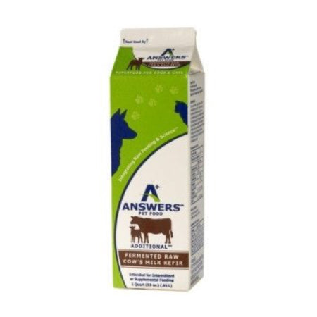 Answers | Cow Milk Kefir