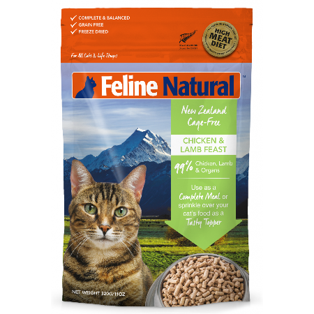 Feline Natural | Freeze Dried Lamb & Chicken