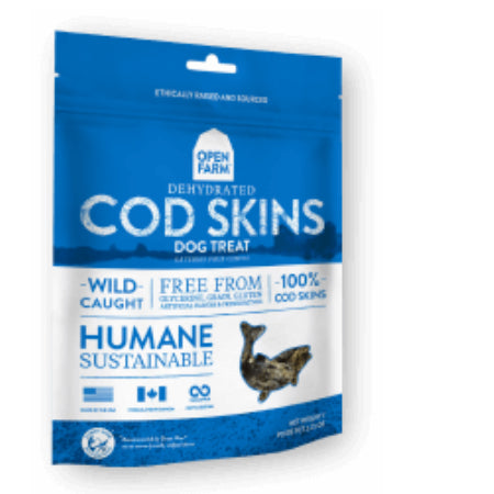 Open Farm_cod skin treats