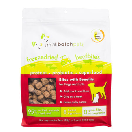 Small Batch:freeze dried beef bites