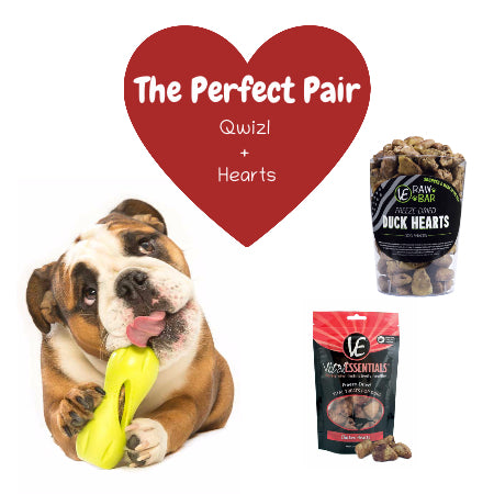 The Perfect Pair | Qwizl + Hearts