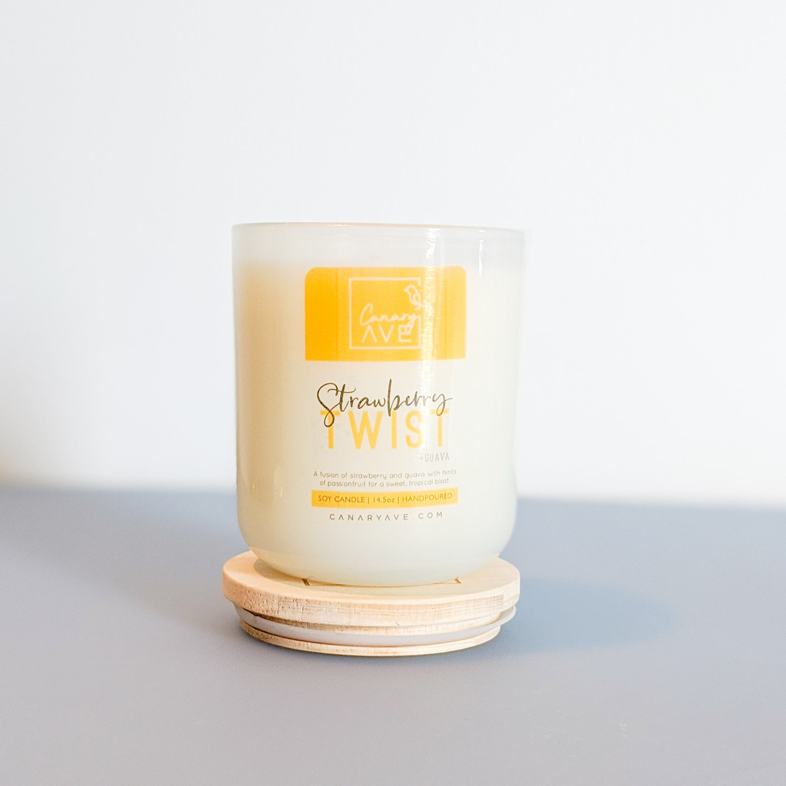 Strawberry Twist Candle