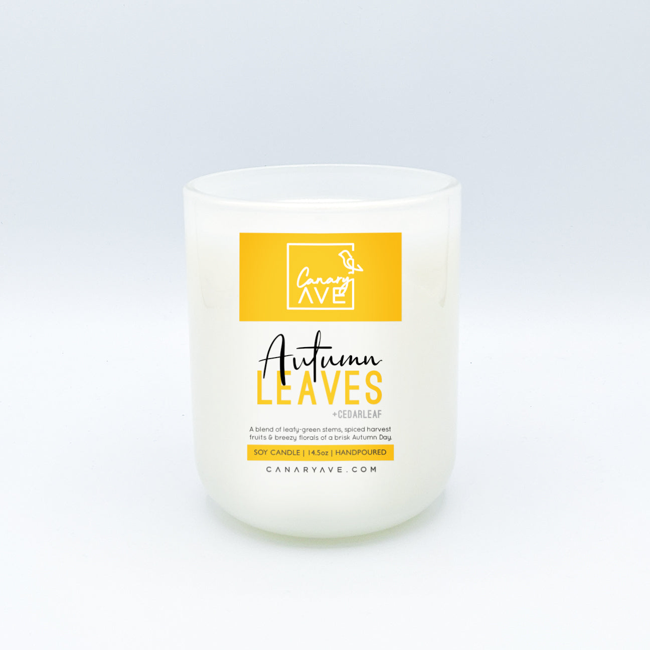 CanaryAve Autumn Leaves 14 oz Candle