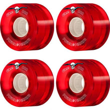 Load image into Gallery viewer, POWELL PERALTA PPH8 CLEAR CRUISER 59MM 80A RED 4PK WHEELS