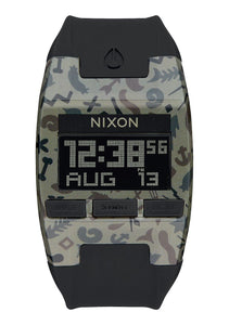 NIXON COMP KHAKI CAMO WATCH