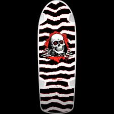 Powell Peralta OG RIpper Skateboard Deck Black/White - 10 x 31""